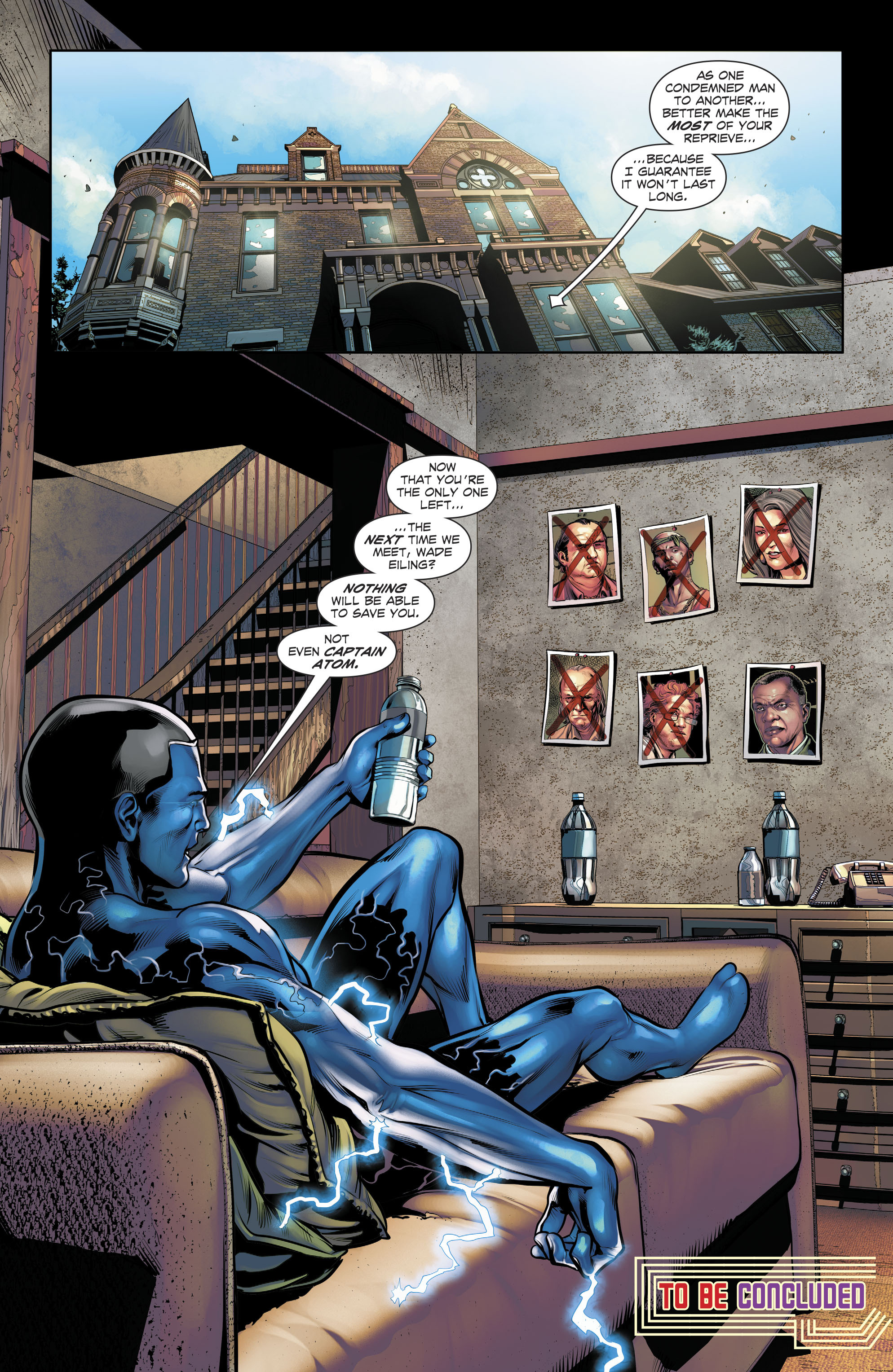 Read online The Fall and Rise of Captain Atom comic -  Issue #5 - 22