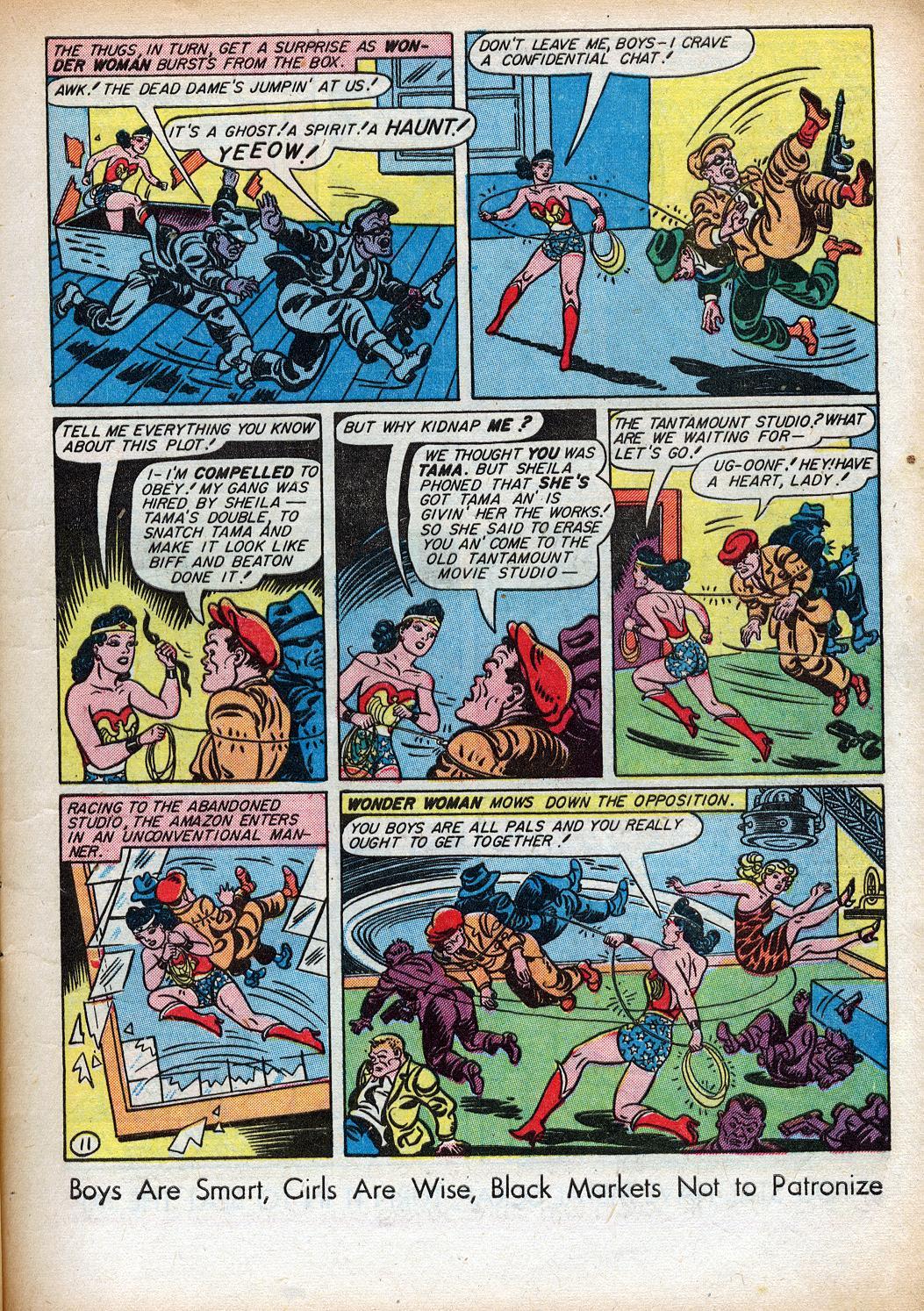 Read online Sensation (Mystery) Comics comic -  Issue #33 - 13