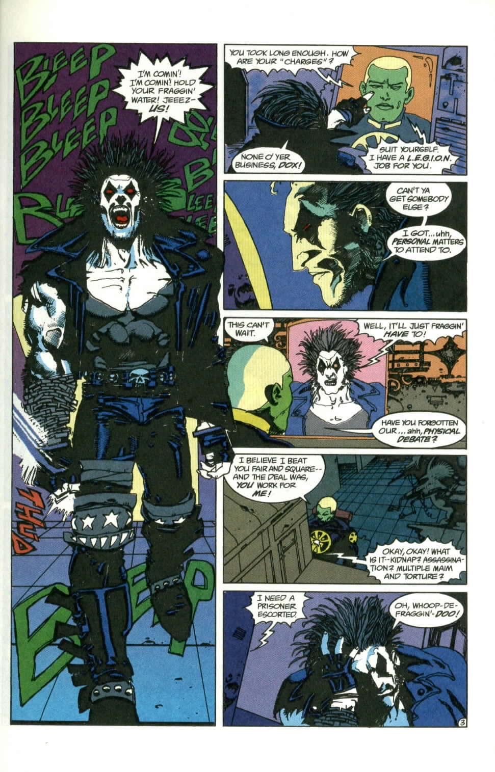 Read online Lobo (1990) comic -  Issue #1 - 4