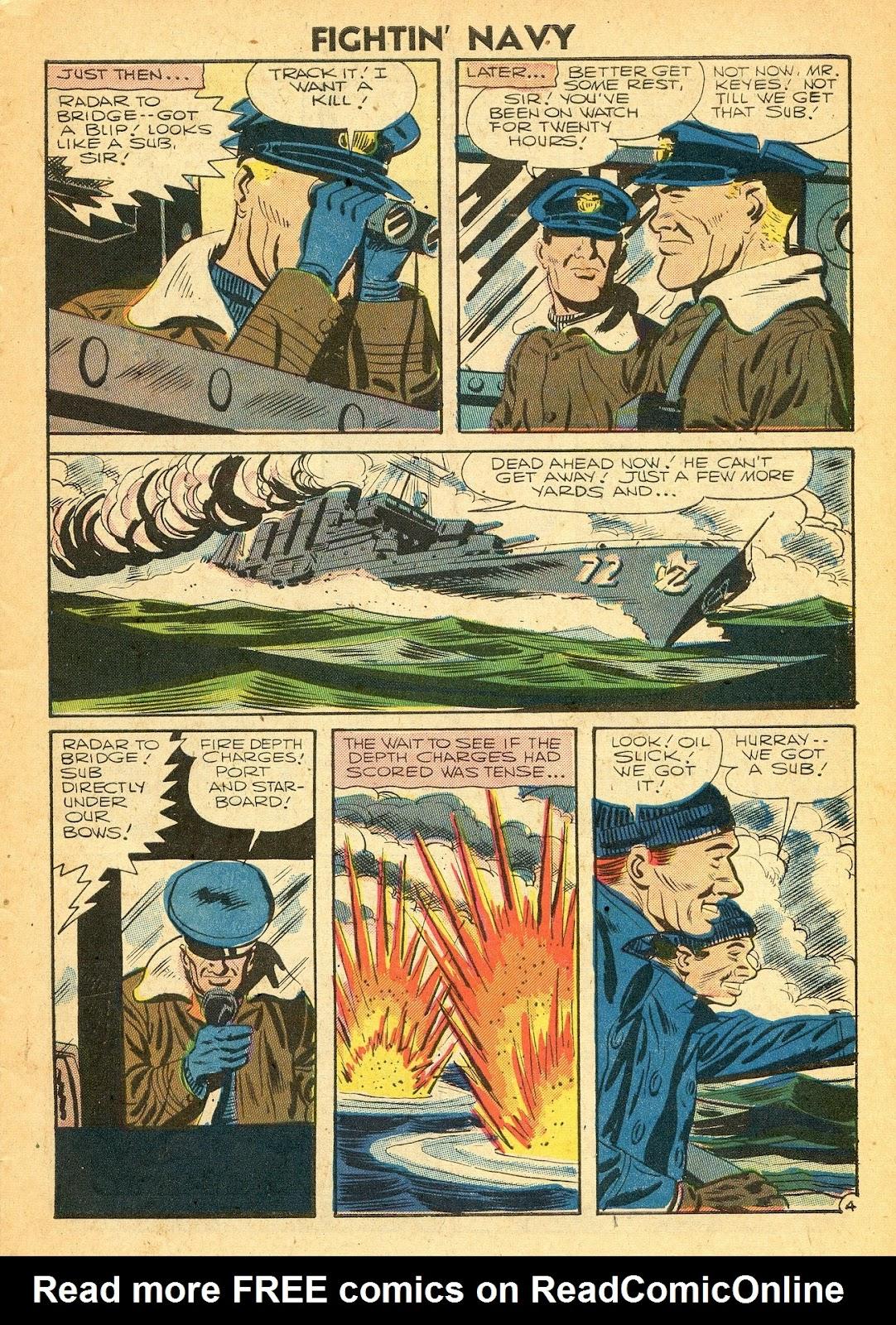 Read online Fightin' Navy comic -  Issue #77 - 7