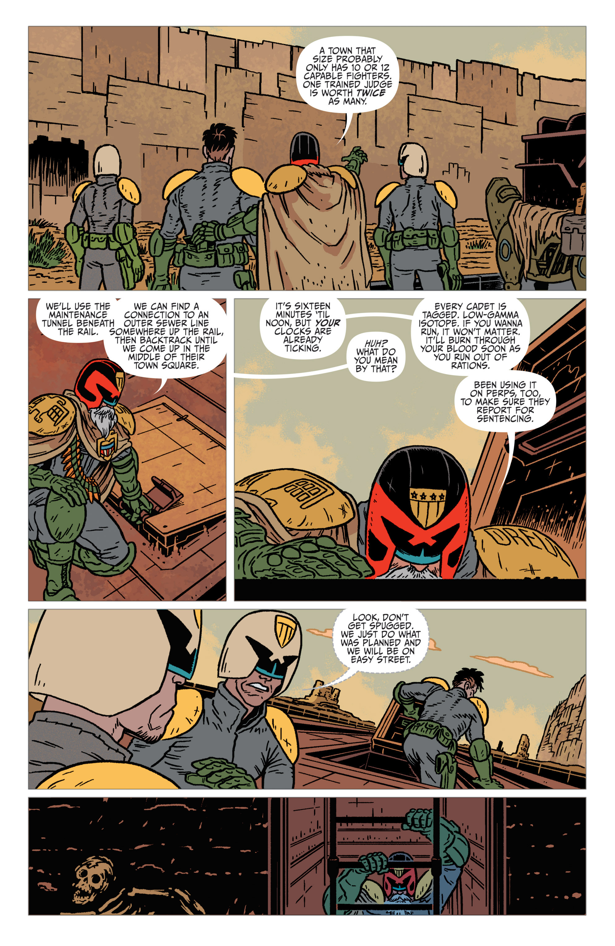 Read online Judge Dredd: The Blessed Earth comic -  Issue #1 - 11