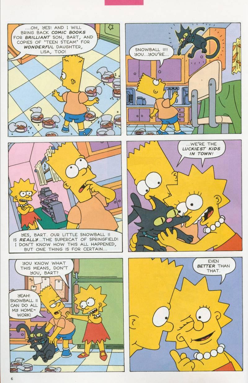 Read online Simpsons Comics Presents Bart Simpson comic -  Issue #6 - 7