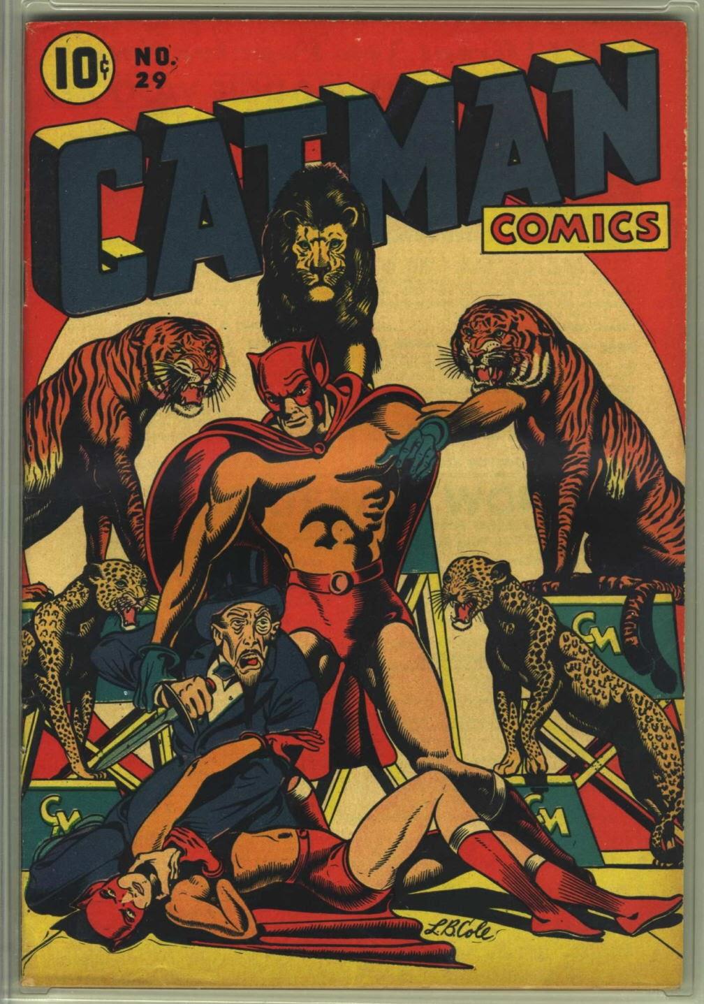 Cat-Man Comics 29 Page 1