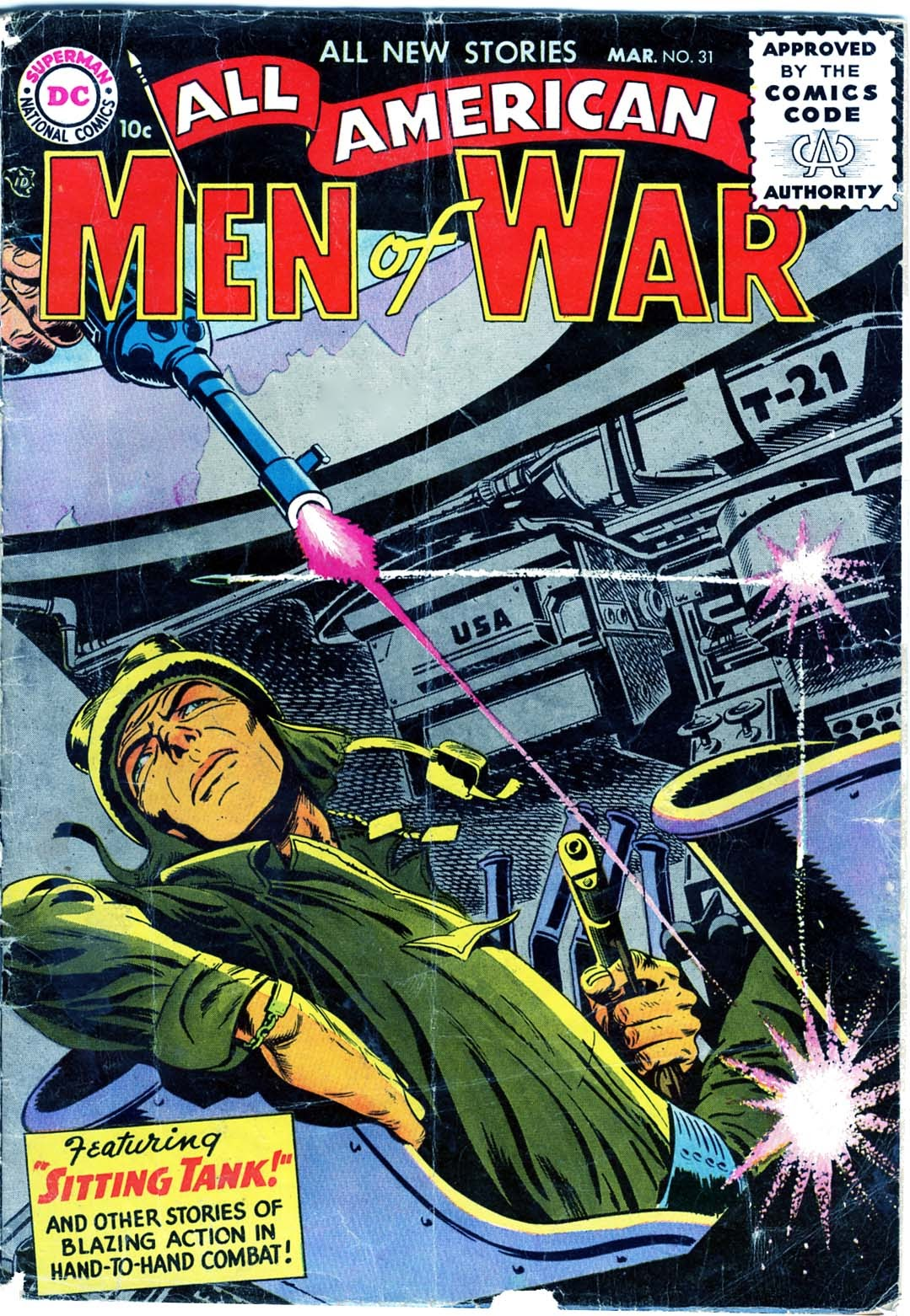 All-American Men of War 31 Page 1