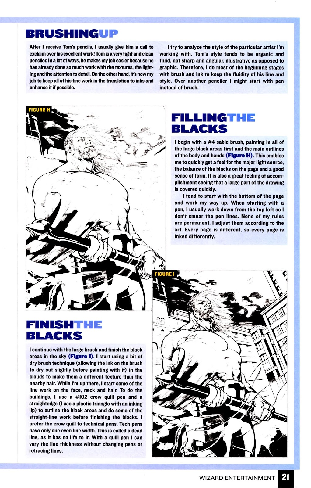 Read online Wizard How to Draw Sampler comic -  Issue # Full - 22