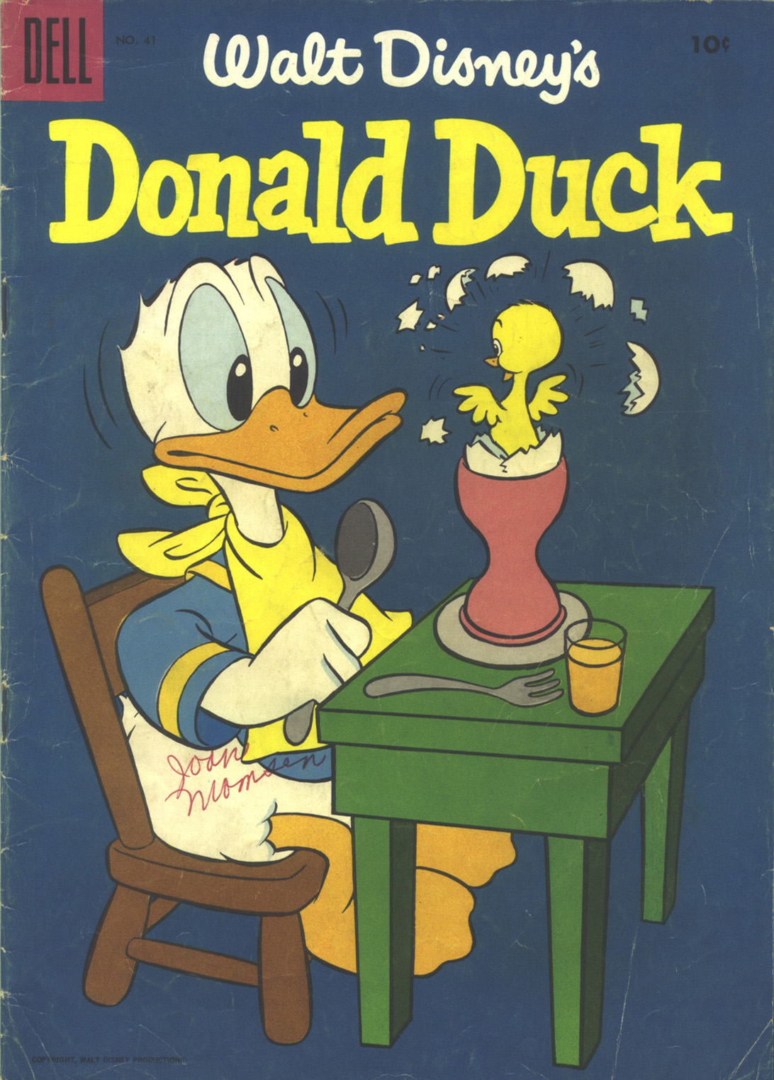 Walt Disney's Donald Duck (1952) issue 41 - Page 1