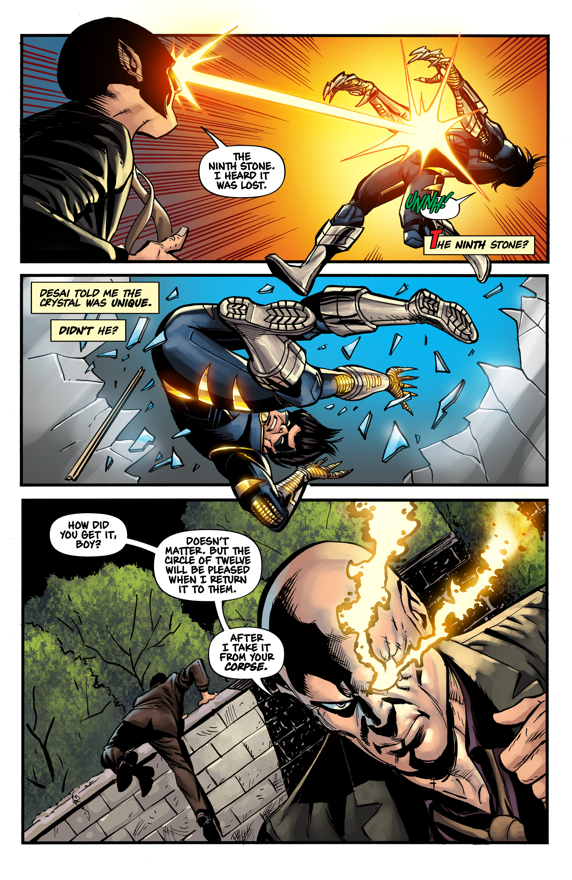 Read online Shadow Tiger comic -  Issue #1 - 23