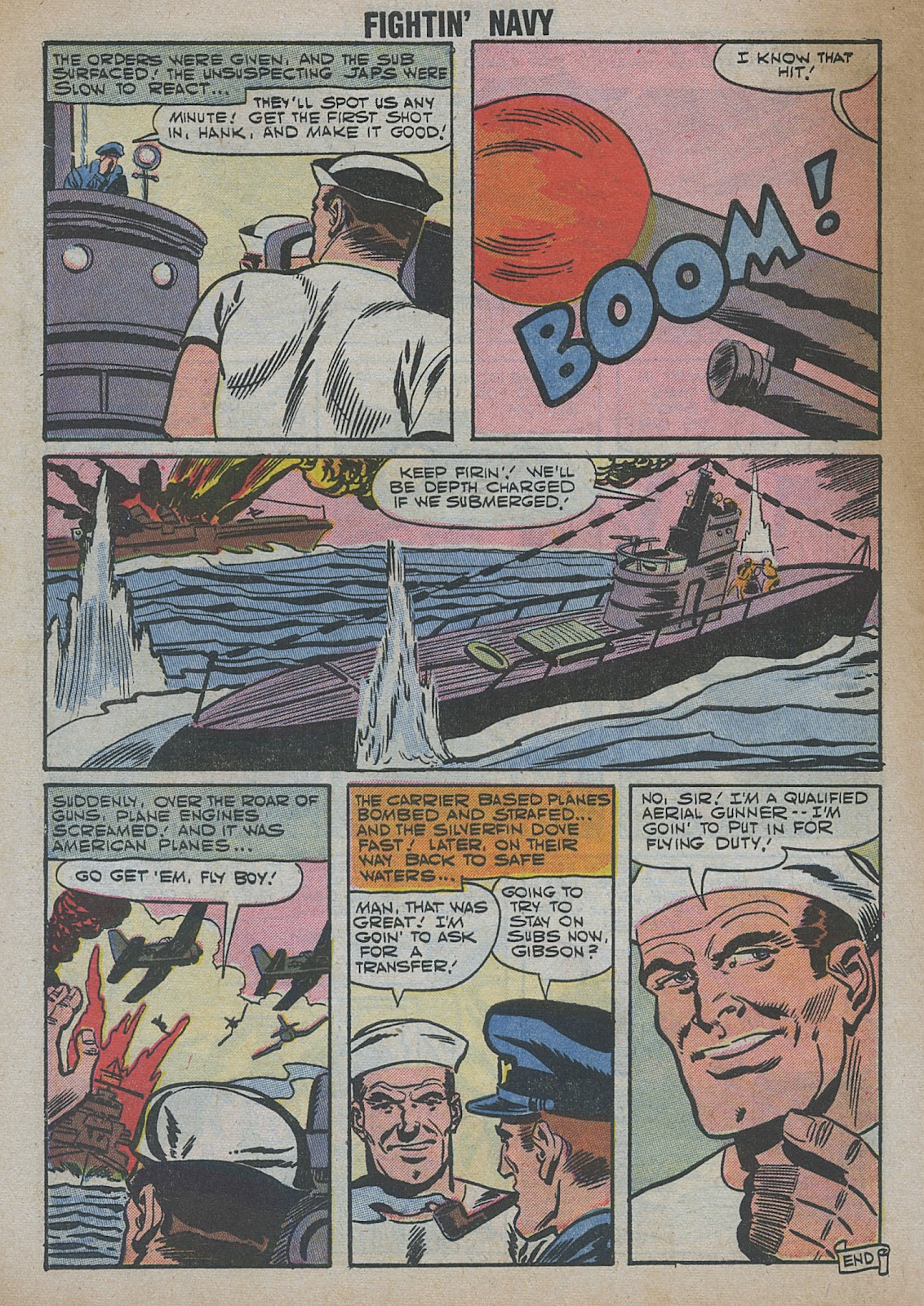 Read online Fightin' Navy comic -  Issue #82 - 58