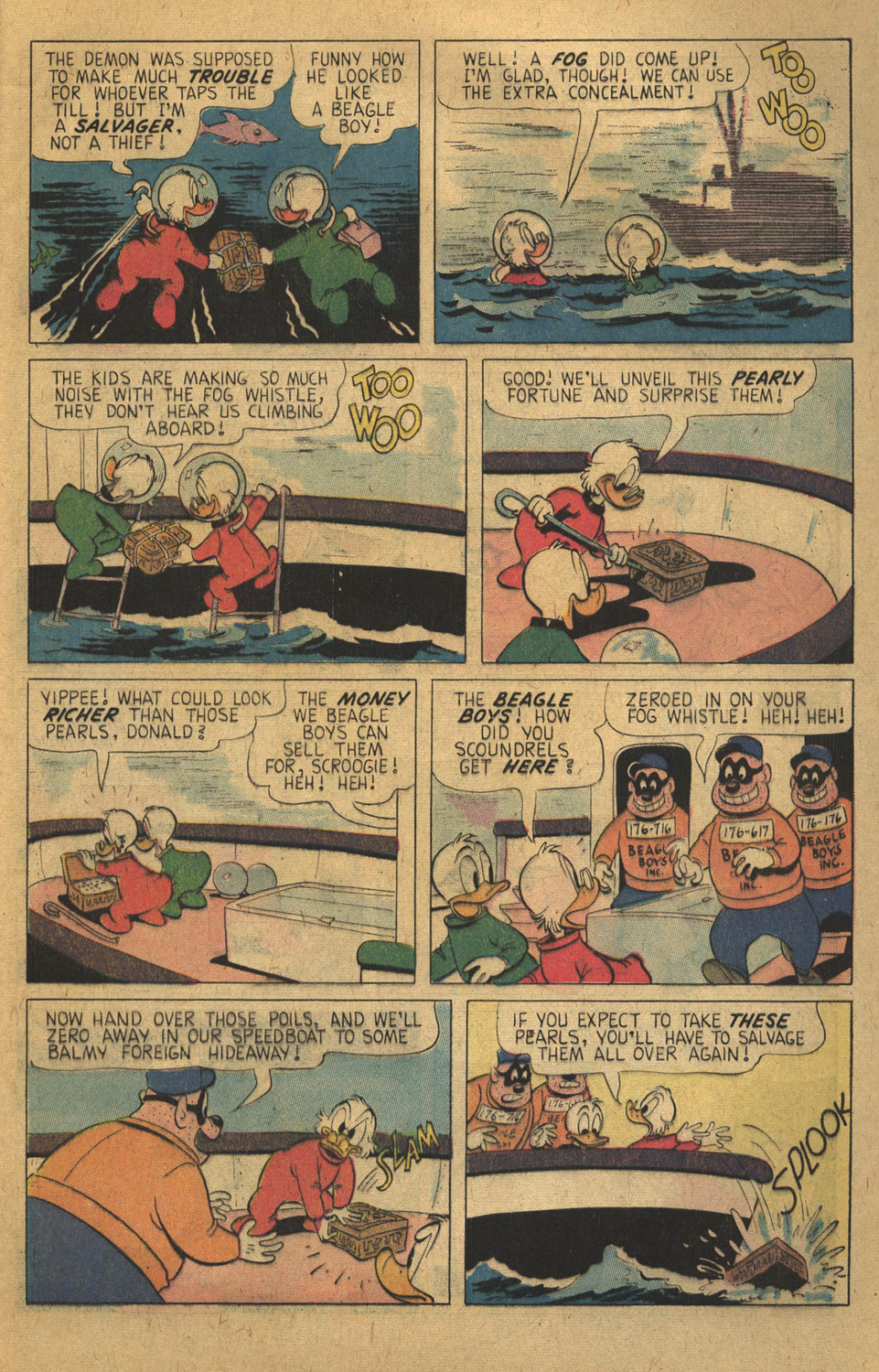 Read online Uncle Scrooge (1953) comic -  Issue #136 - 5