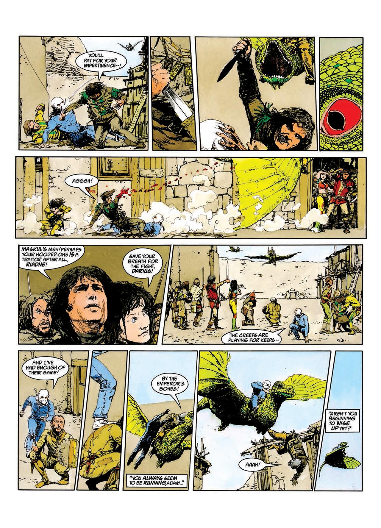 Read online Mazeworld comic -  Issue # TPB - 24