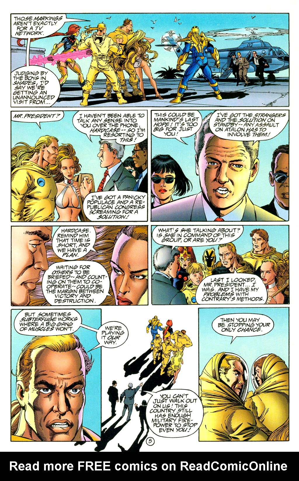 Read online UltraForce (1994) comic -  Issue #5 - 6