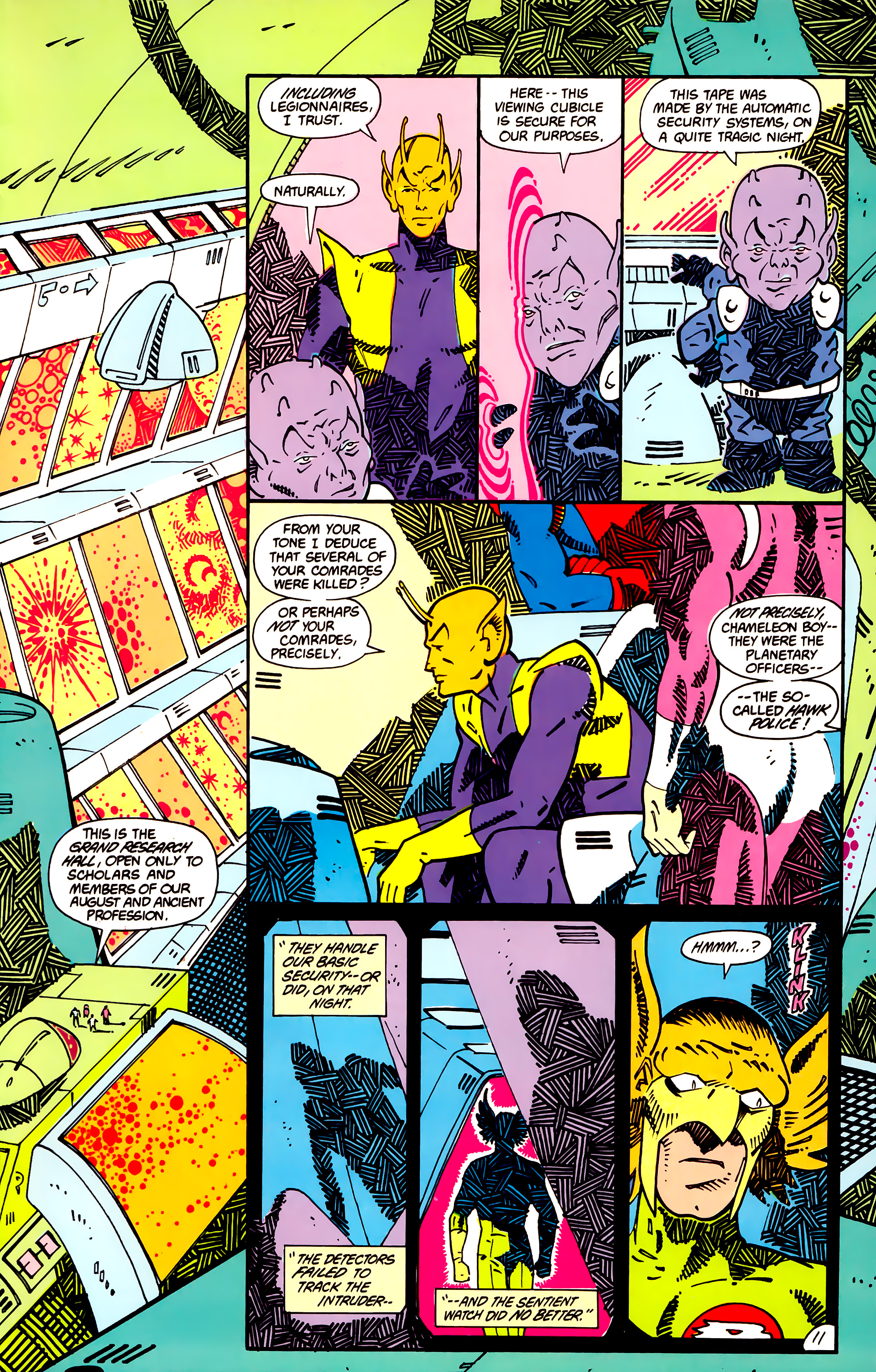 Legion of Super-Heroes (1984) _Annual_1 Page 12