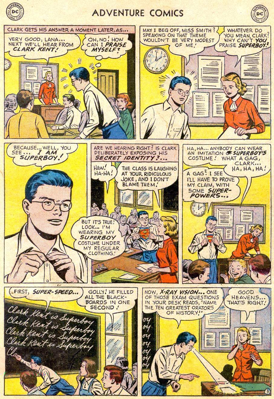 Read online Adventure Comics (1938) comic -  Issue #235 - 5