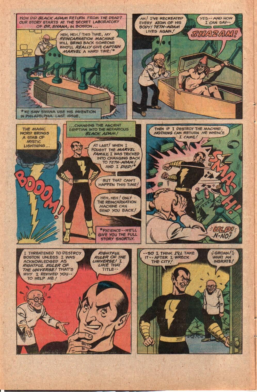 Read online Shazam! (1973) comic -  Issue #28 - 4