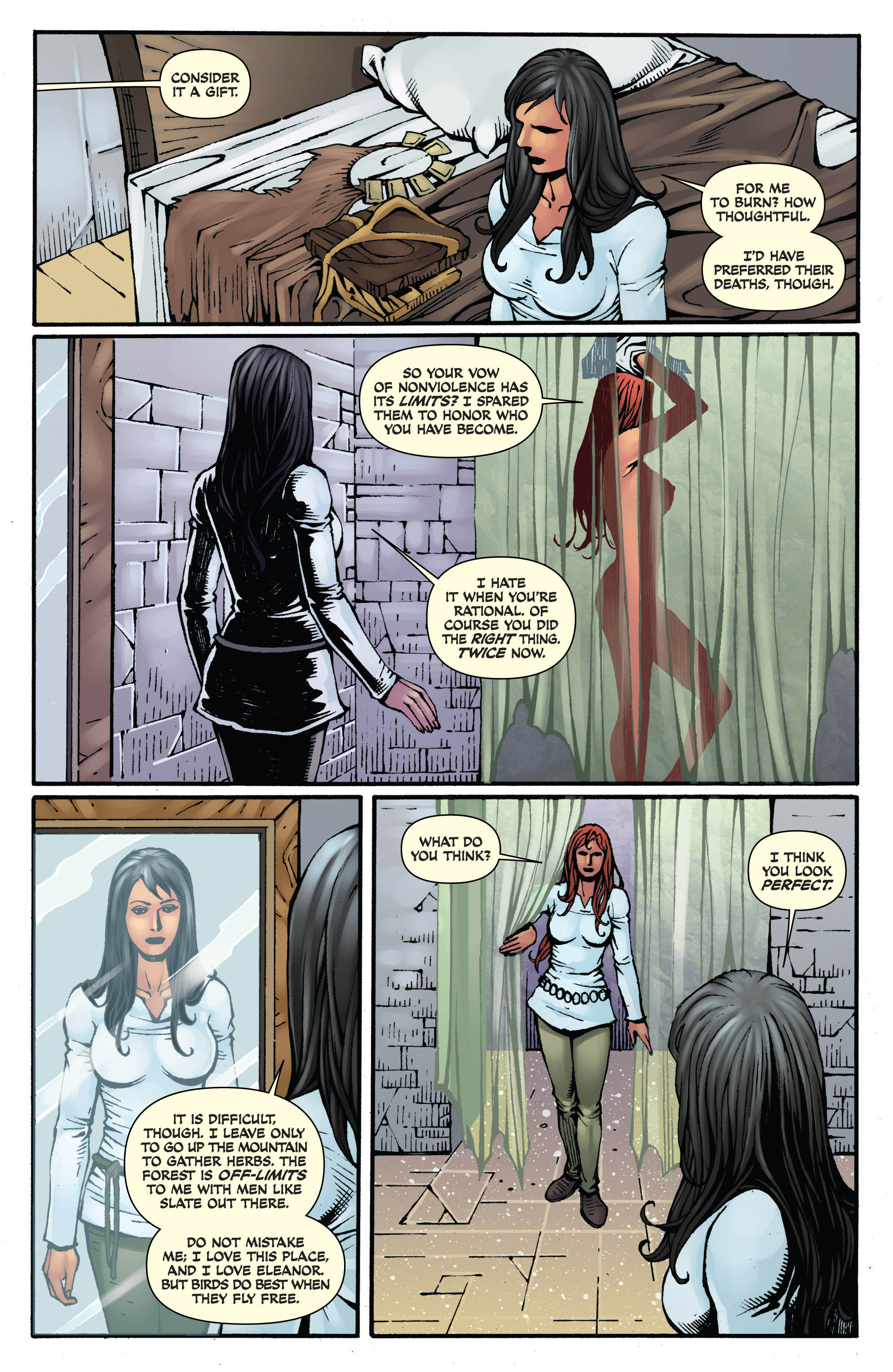 Read online Red Sonja: Sanctuary comic -  Issue # Full - 14