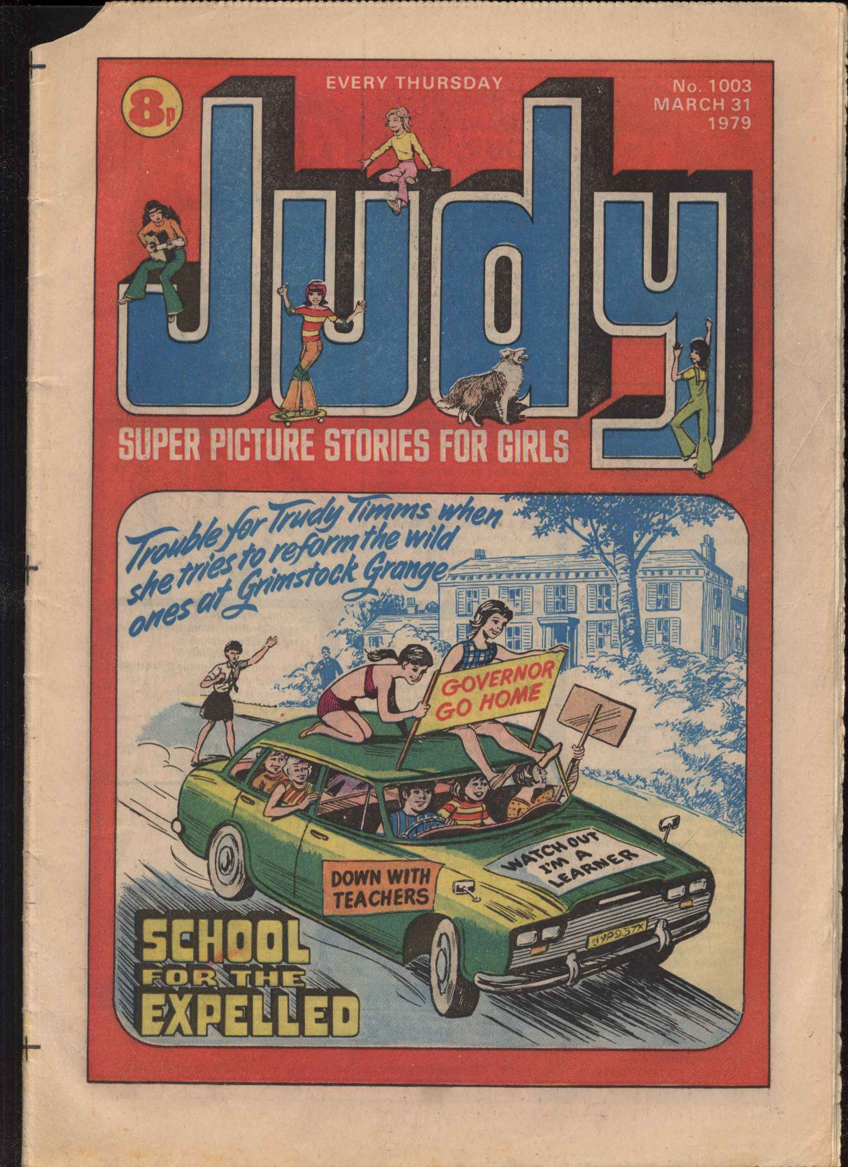Read online Judy comic -  Issue #3 - 1