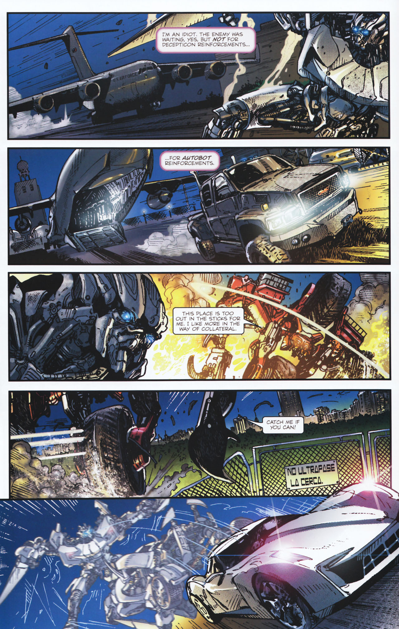 Read online Transformers: Tales of The Fallen comic -  Issue #2 - 16