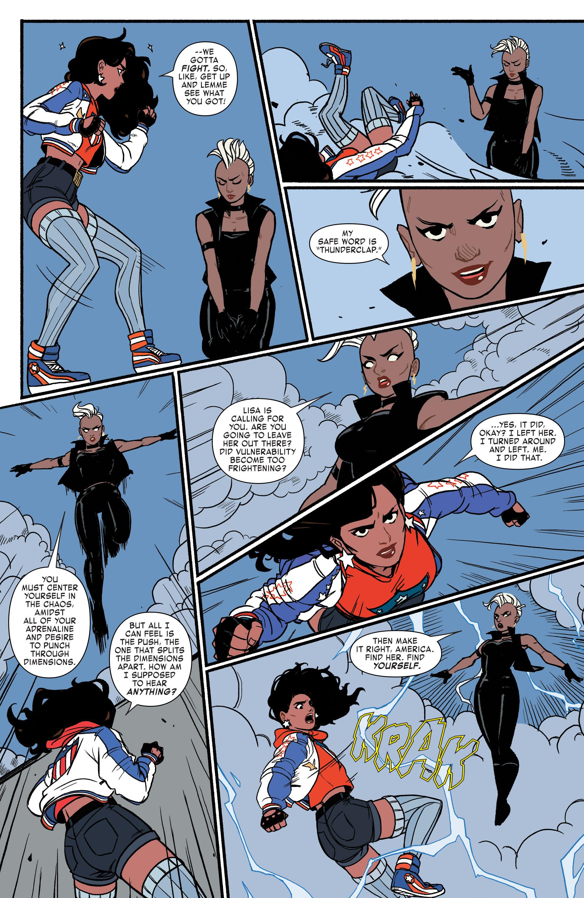 Read online America (2016) comic -  Issue #3 - 12