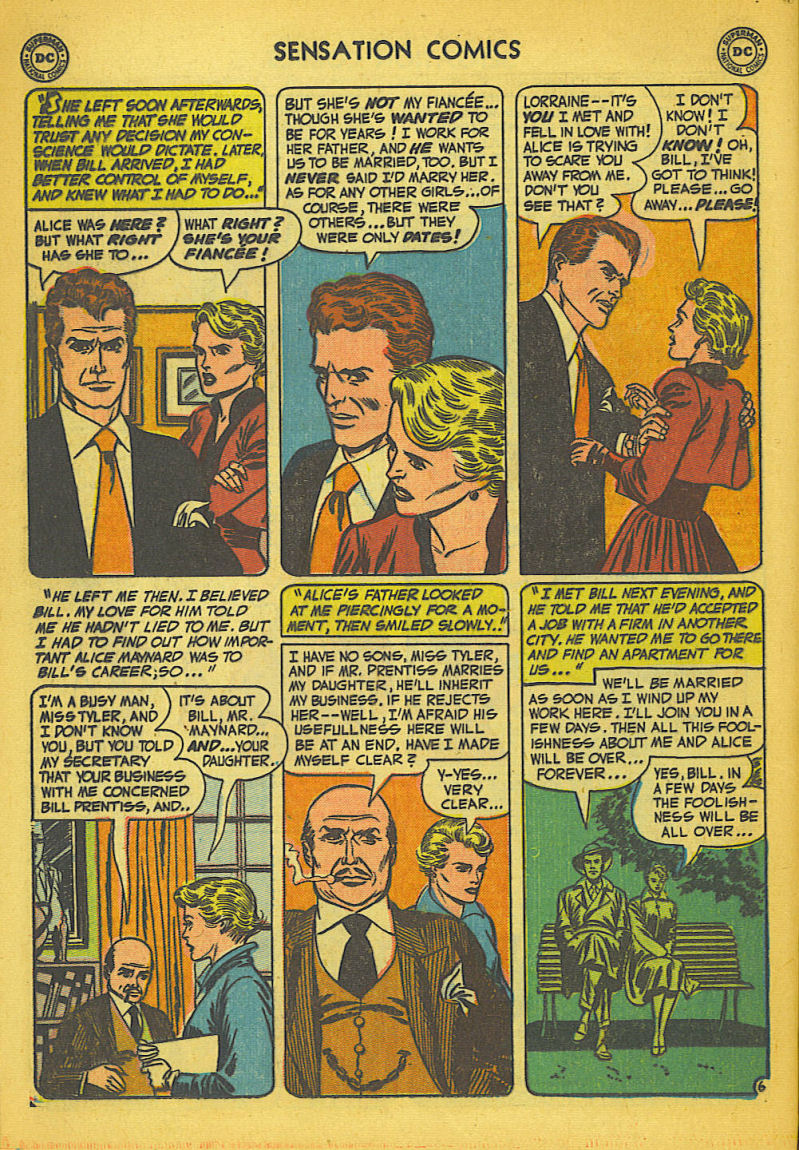Read online Sensation (Mystery) Comics comic -  Issue #104 - 22