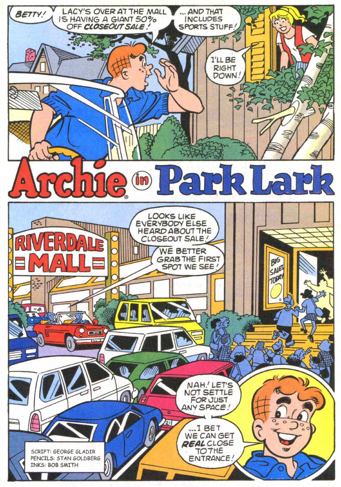 Read online Archie (1960) comic -  Issue #513 - 21