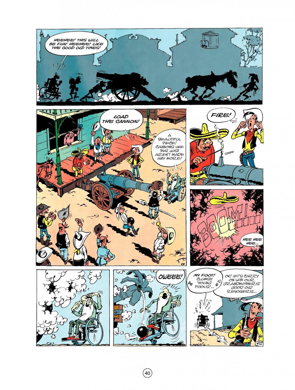 Read online A Lucky Luke Adventure comic -  Issue #27 - 41