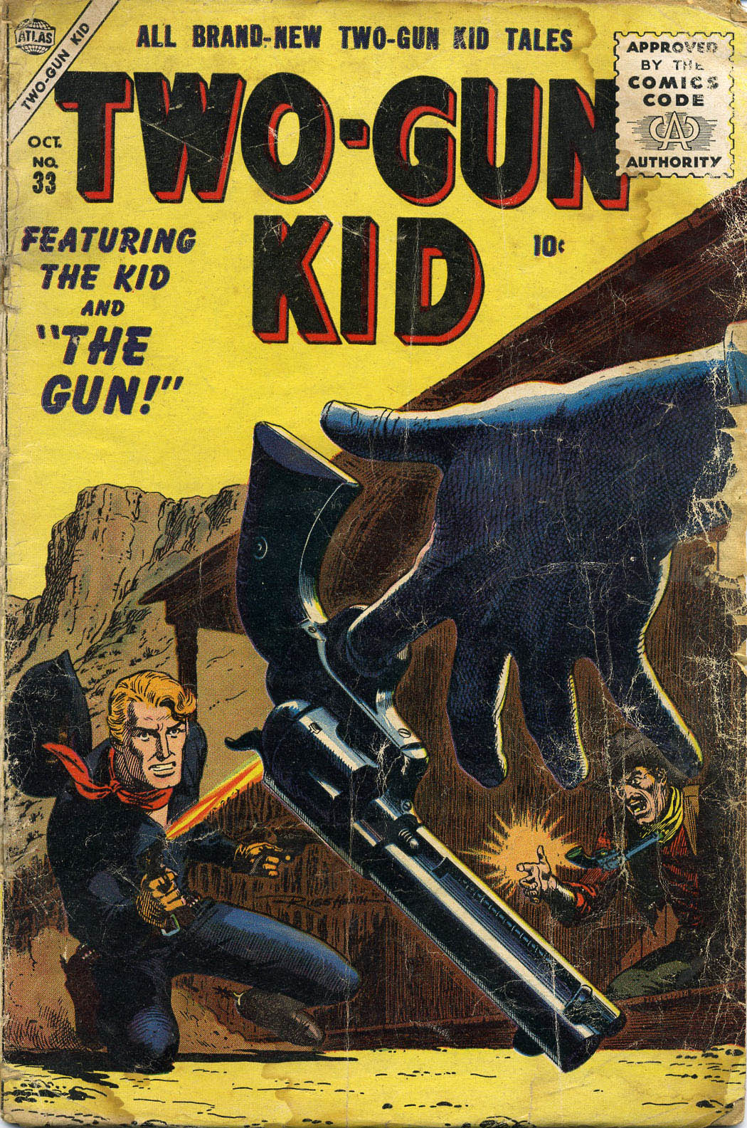 Read online Two-Gun Kid comic -  Issue #33 - 1
