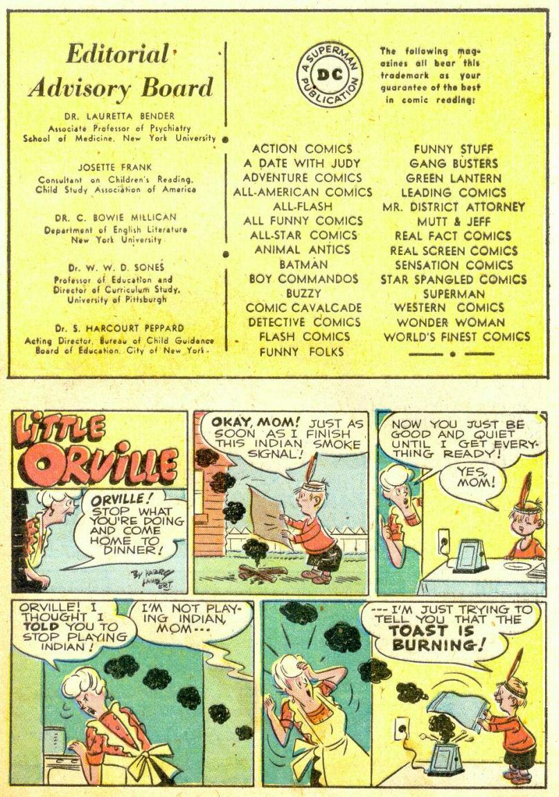 Read online Sensation (Mystery) Comics comic -  Issue #74 - 41