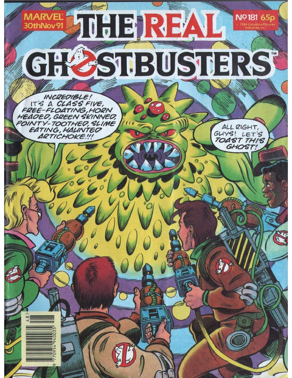 The Real Ghostbusters 181 Page 1