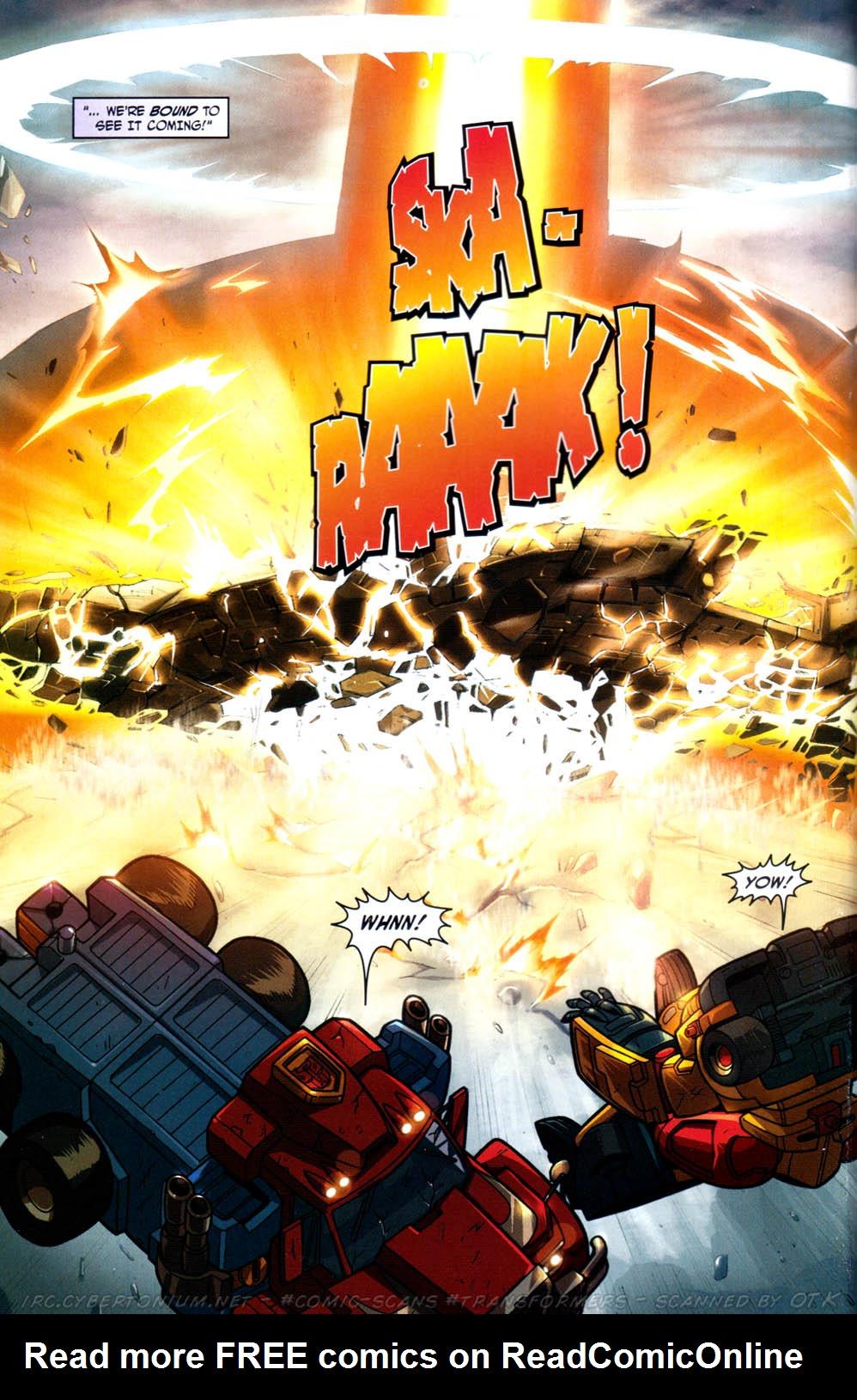 Read online Transformers Armada comic -  Issue #13 - 12