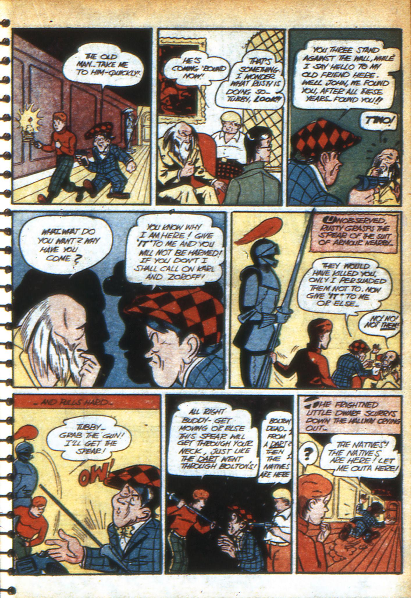 Read online Adventure Comics (1938) comic -  Issue #47 - 52