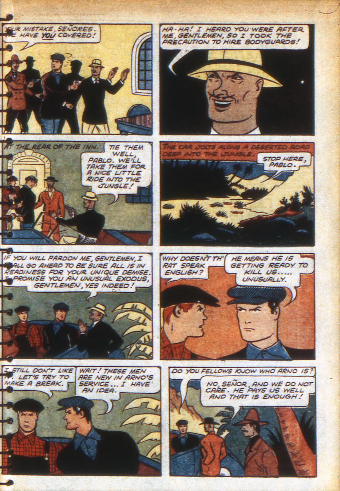 Read online Adventure Comics (1938) comic -  Issue #49 - 55