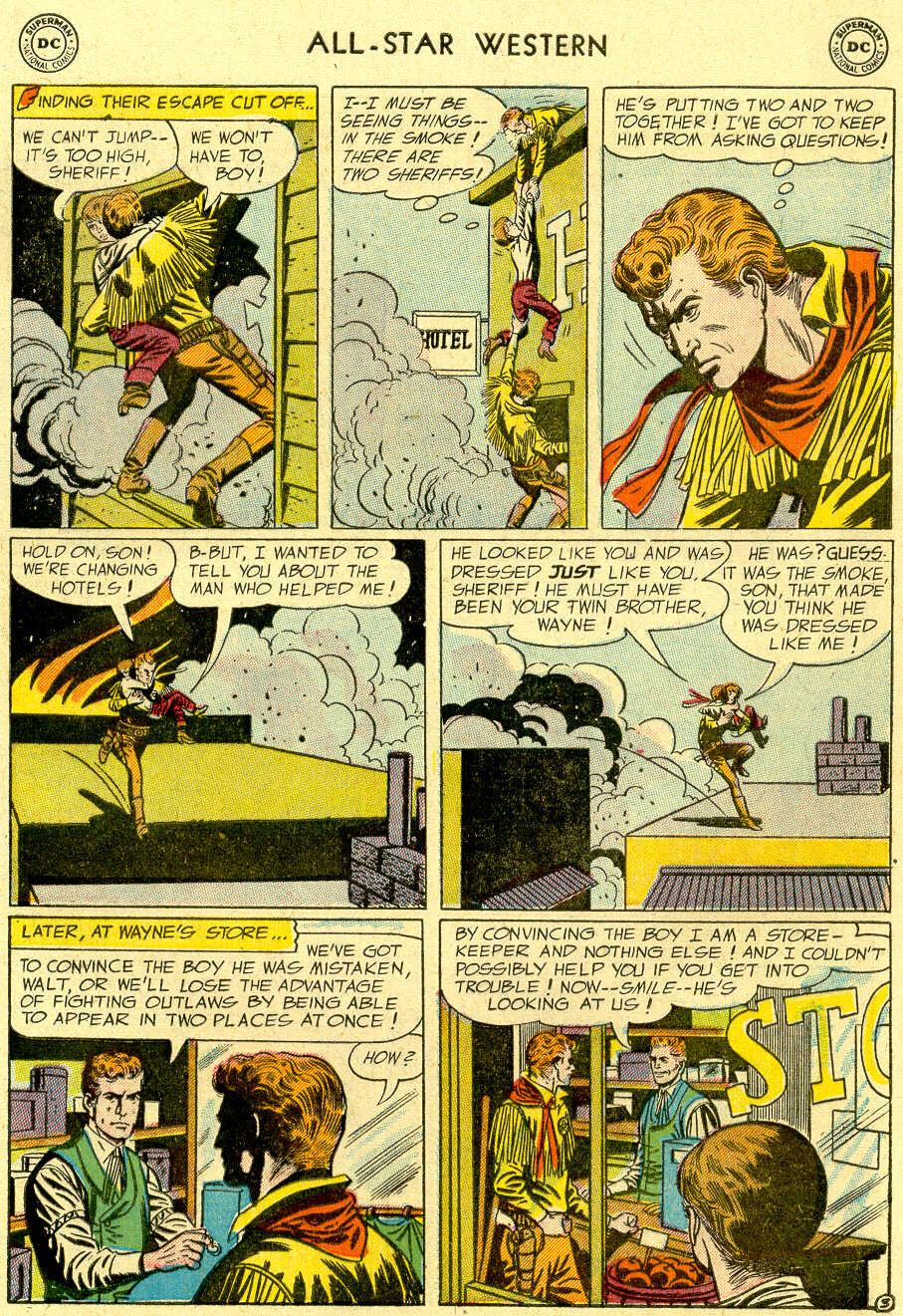 Read online All-Star Western (1951) comic -  Issue #83 - 5