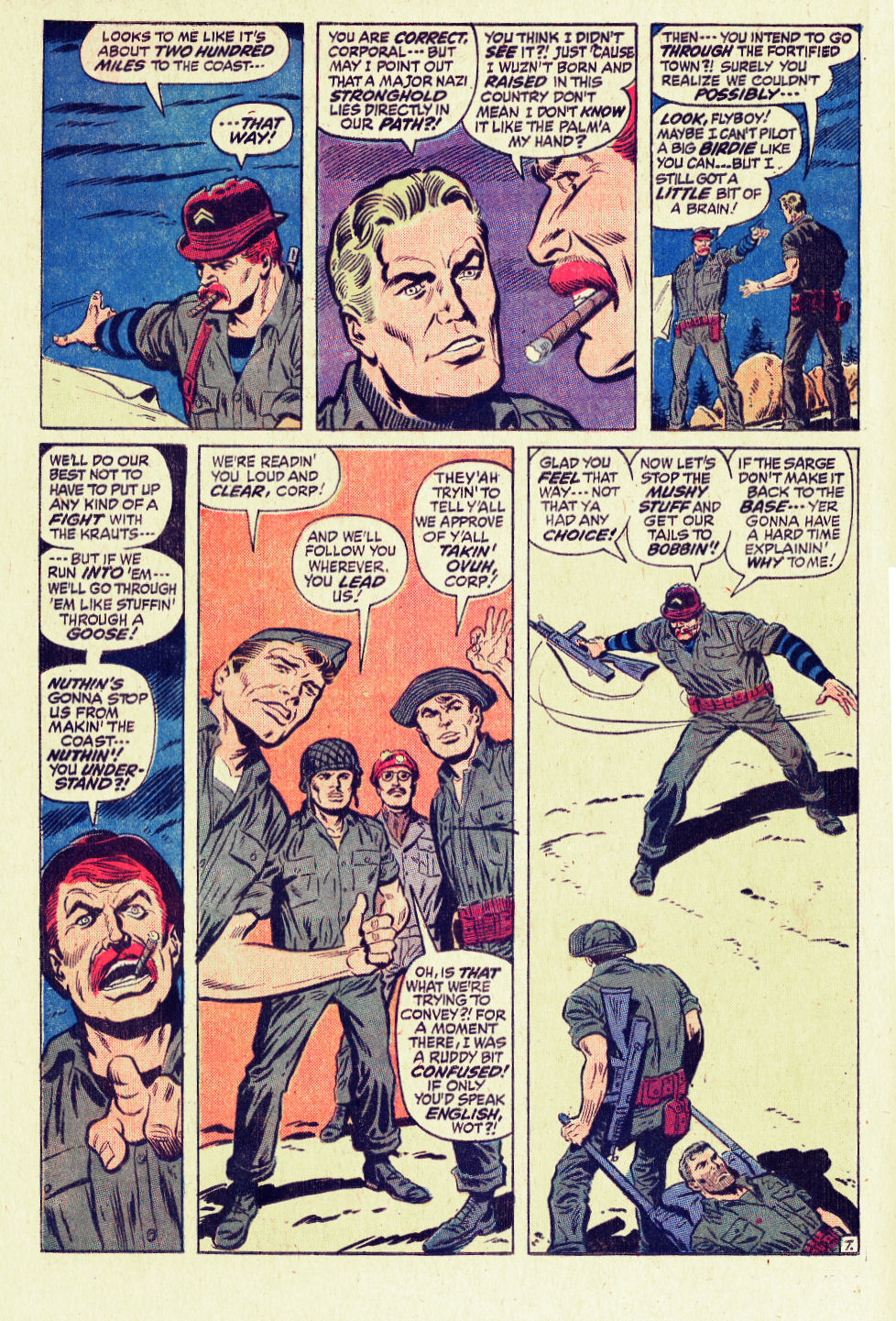Read online Sgt. Fury comic -  Issue #96 - 12