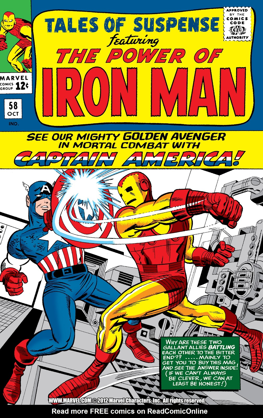 Read online Marvel Masterworks: The Invincible Iron Man comic -  Issue # TPB 2 (Part 2) - 20