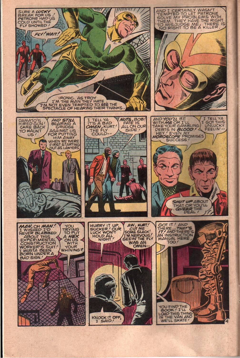 Read online The Fly (1983) comic -  Issue #7 - 5