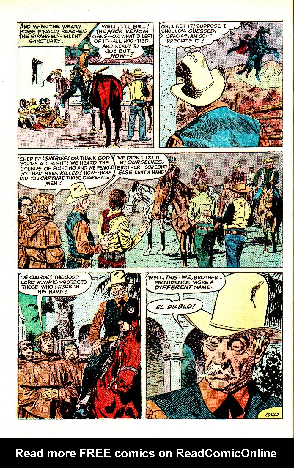 Read online All-Star Western (1970) comic -  Issue #11 - 24