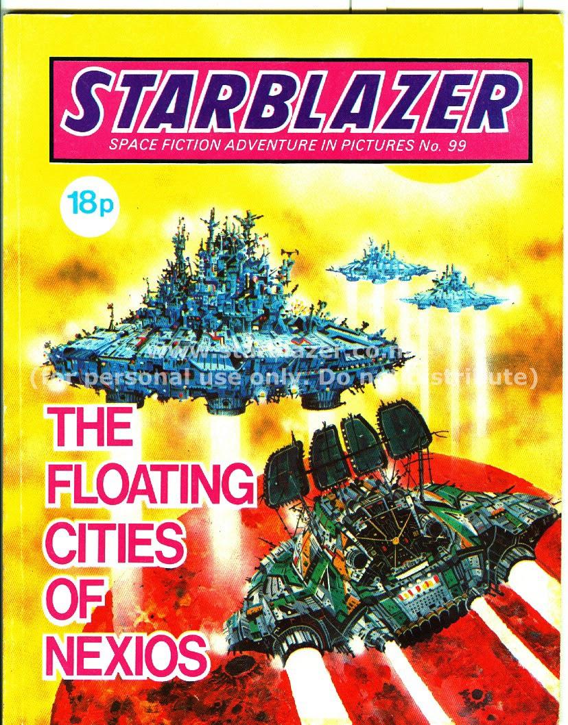 Starblazer issue 99 - Page 1