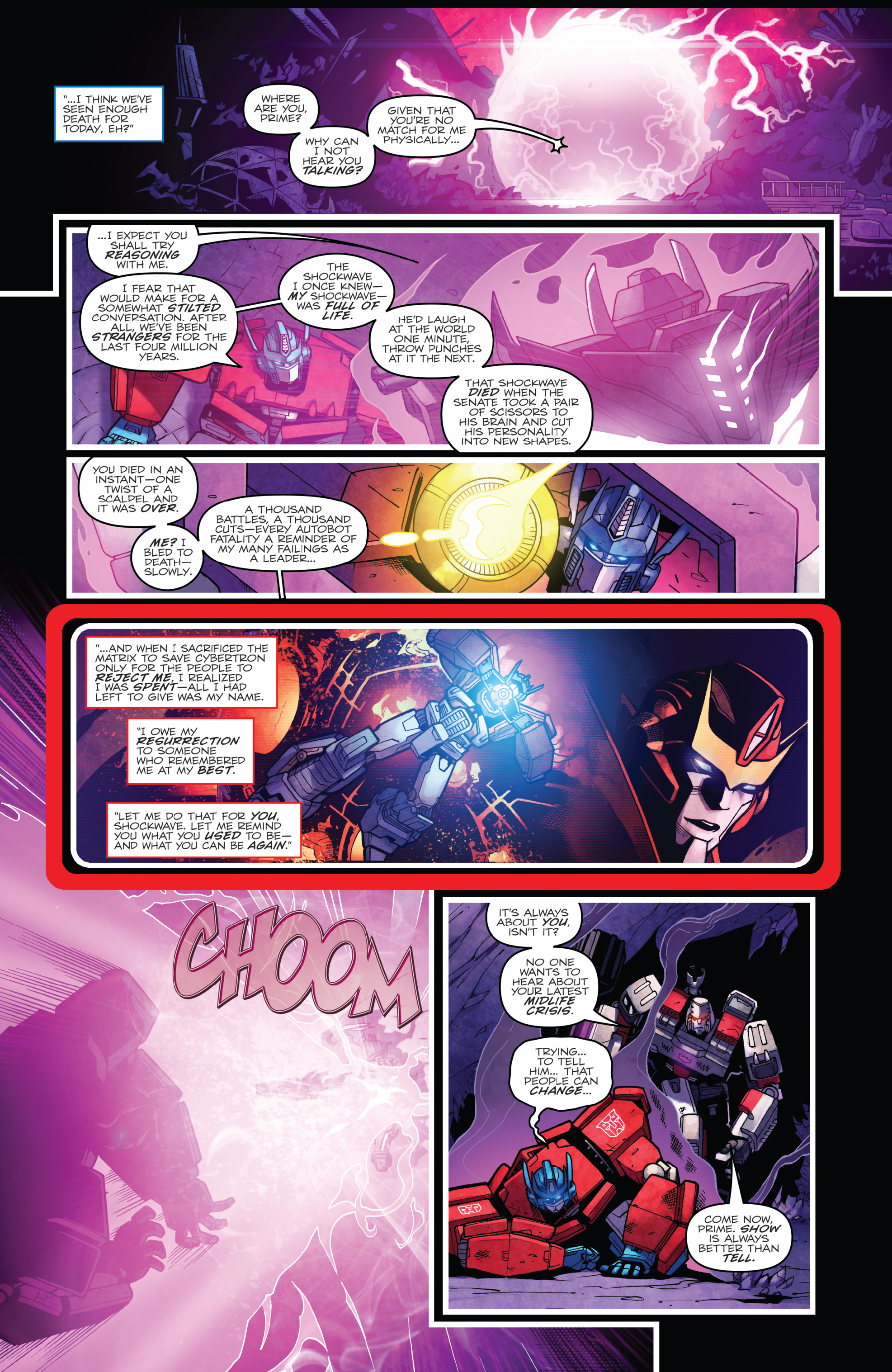 Read online The Transformers: Dark Cybertron Finale comic -  Issue # Full - 138
