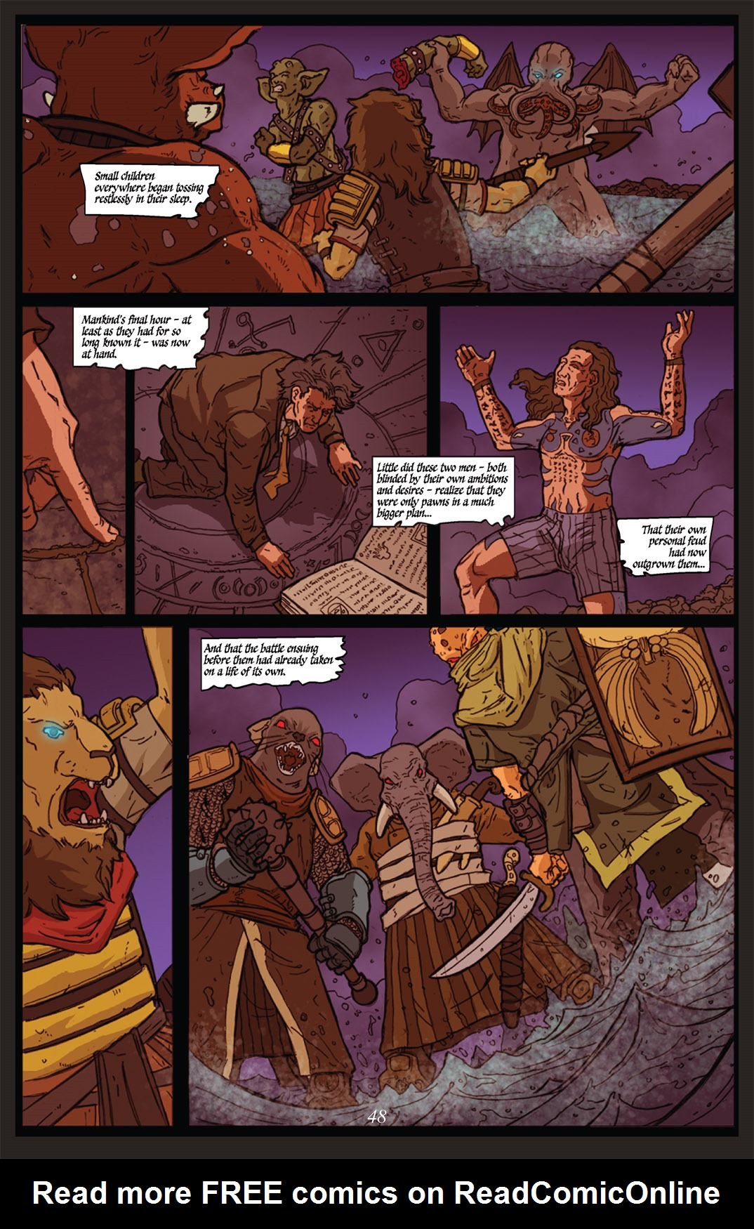 Read online Nightmare World comic -  Issue # Vol. 2 Leave the Light On - 49