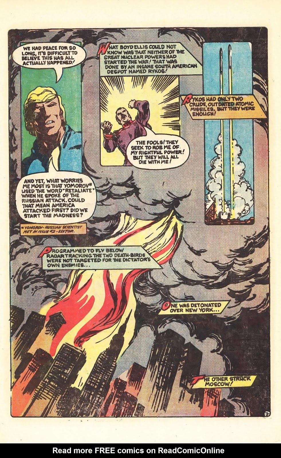 Read online Doomsday   1 (1975) comic -  Issue #4 - 5