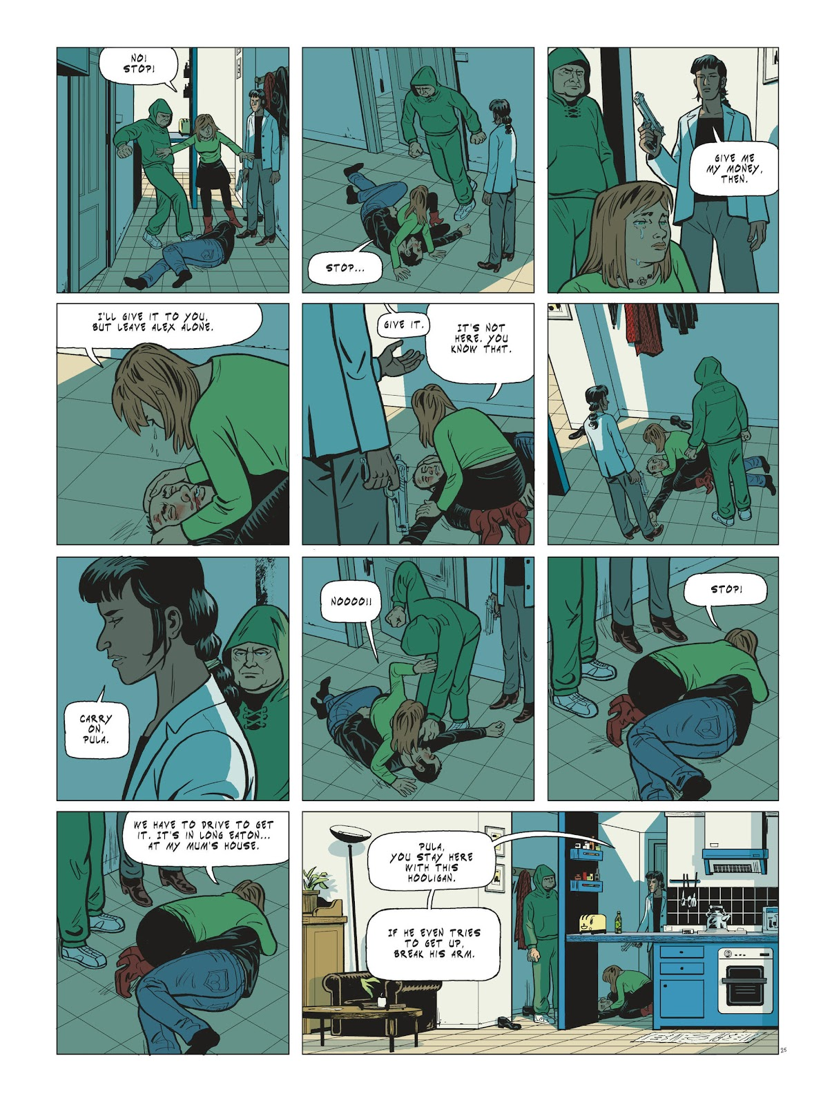 Read online Maggy Garrisson comic -  Issue #3 - 27