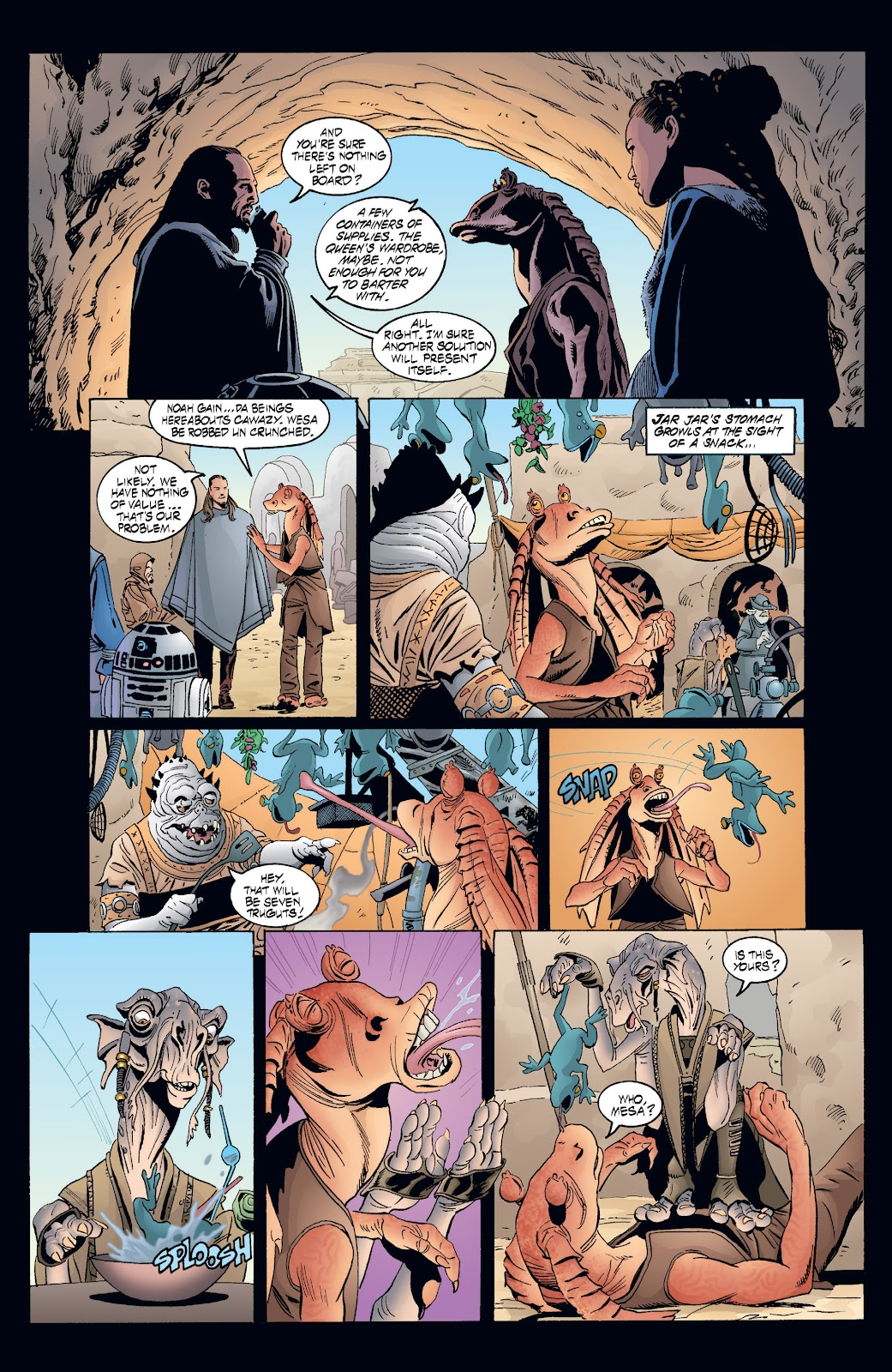 Read online Star Wars Legends: Rise of the Sith - Epic Collection comic -  Issue # TPB 2 (Part 3) - 70
