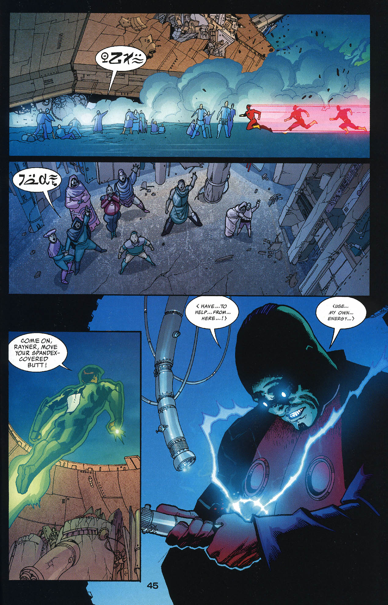 Read online JLA/Haven: Arrival comic -  Issue # Full - 44