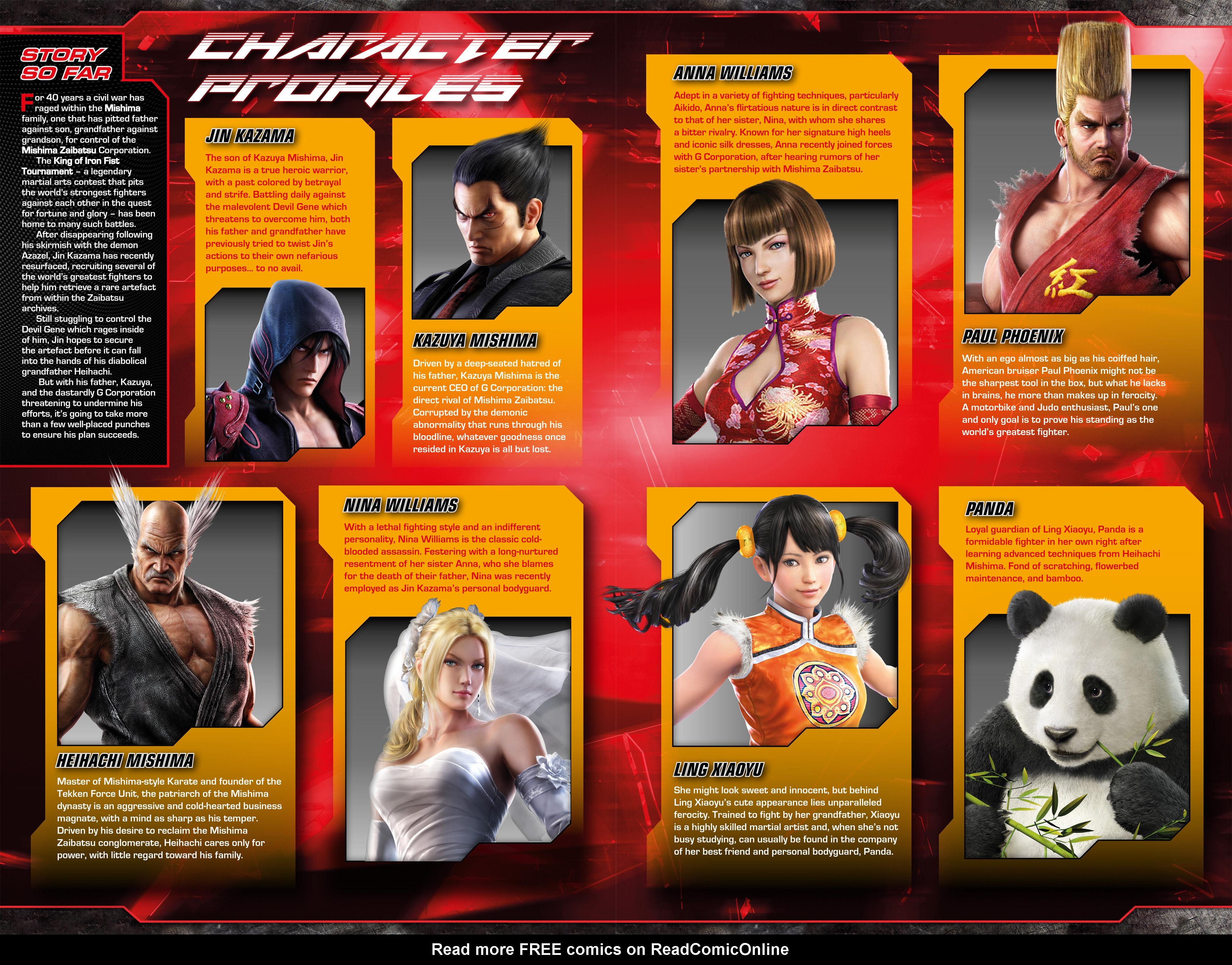 Read online Tekken comic -  Issue #2 - 5