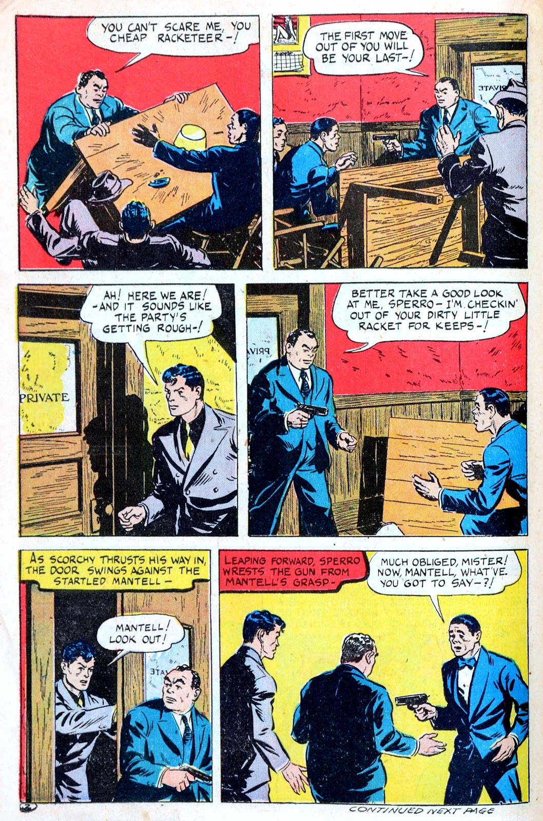 Read online Famous Funnies comic -  Issue #123 - 22