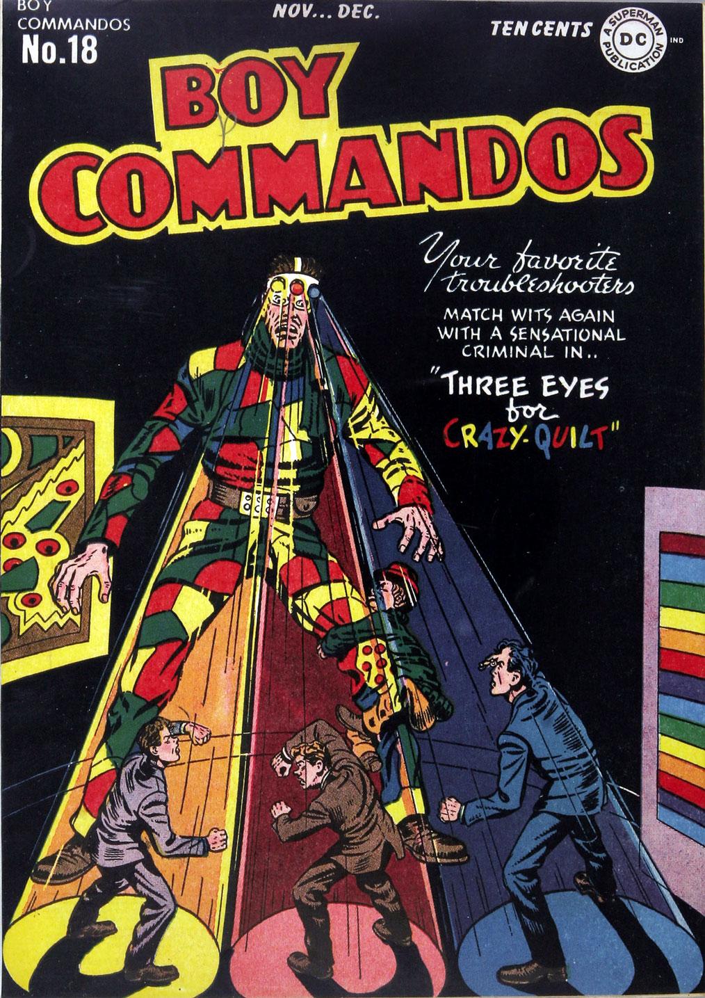 Boy Commandos 18 Page 1