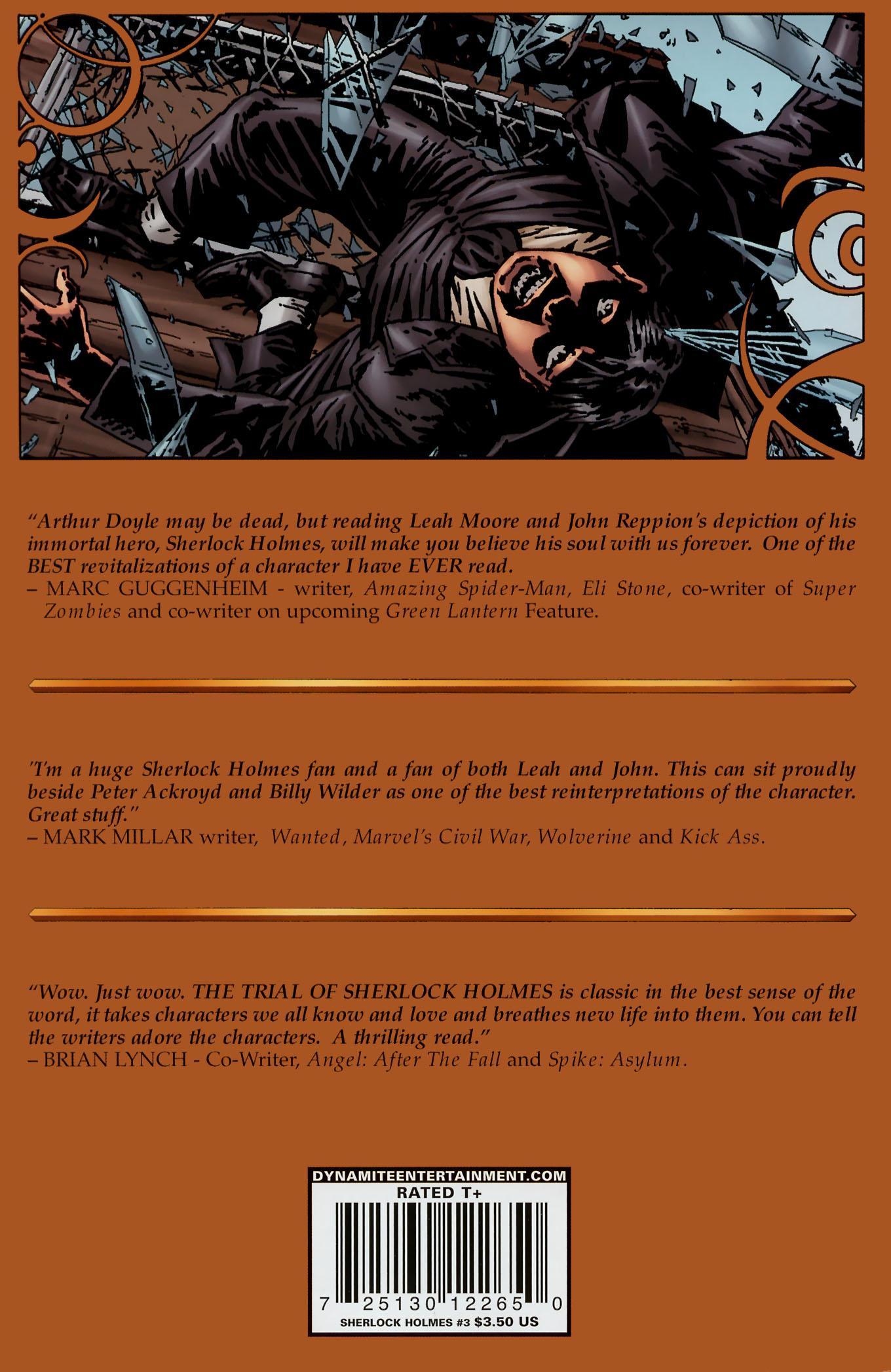 Read online Sherlock Holmes (2009) comic -  Issue #3 - 36