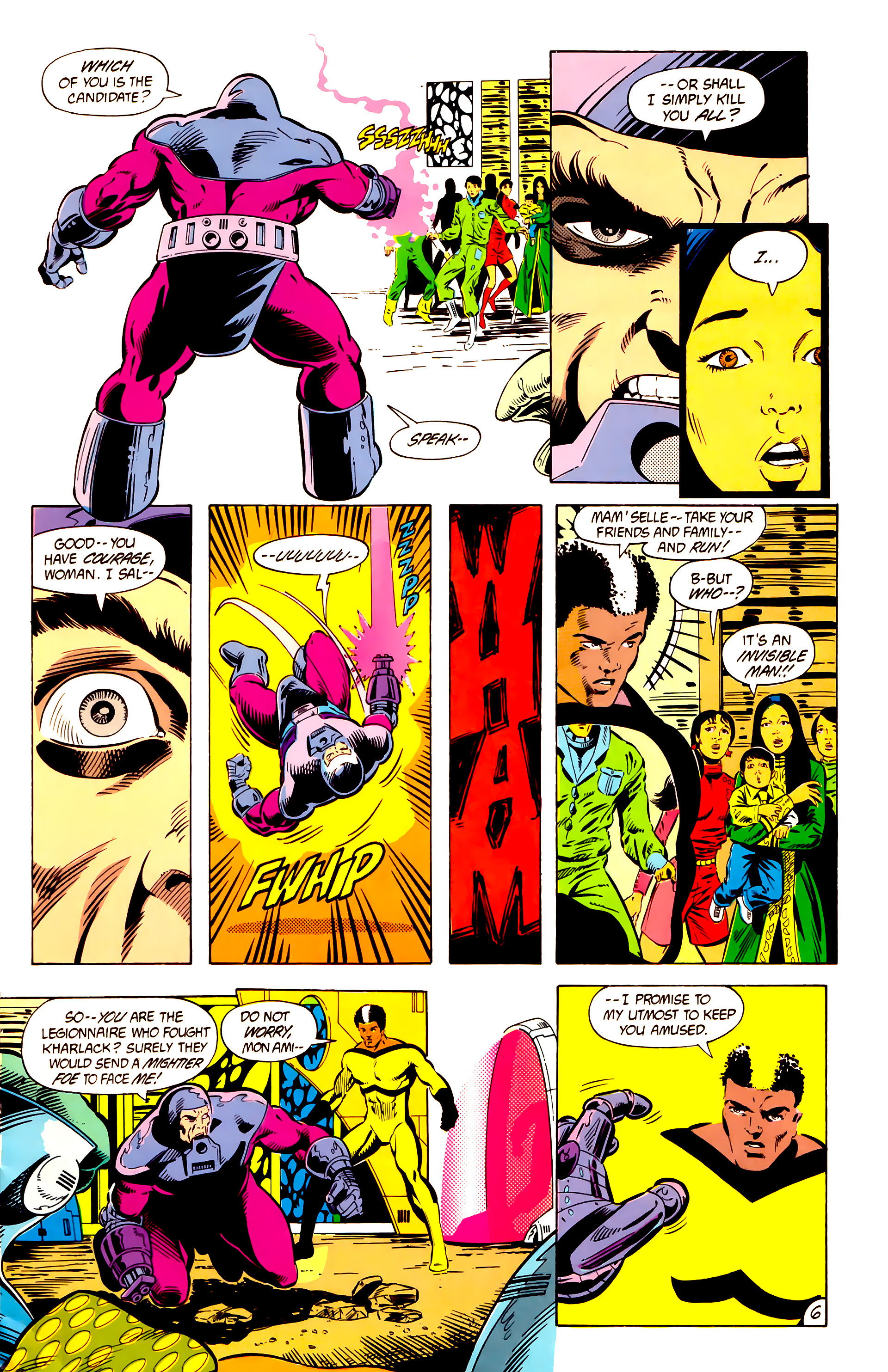 Legion of Super-Heroes (1984) 10 Page 7