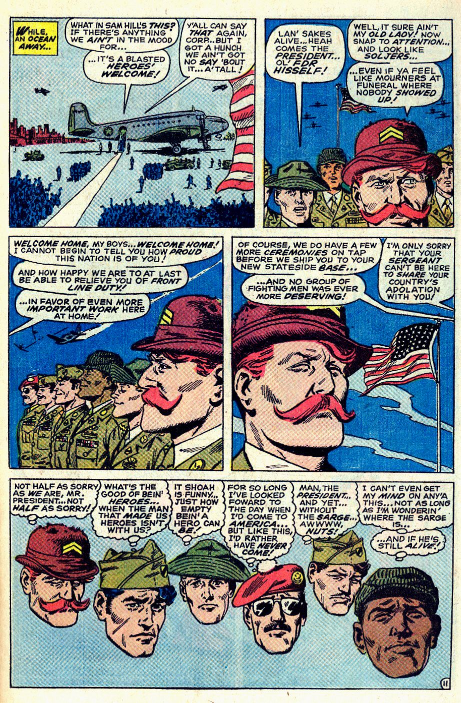 Read online Sgt. Fury comic -  Issue #66 - 17
