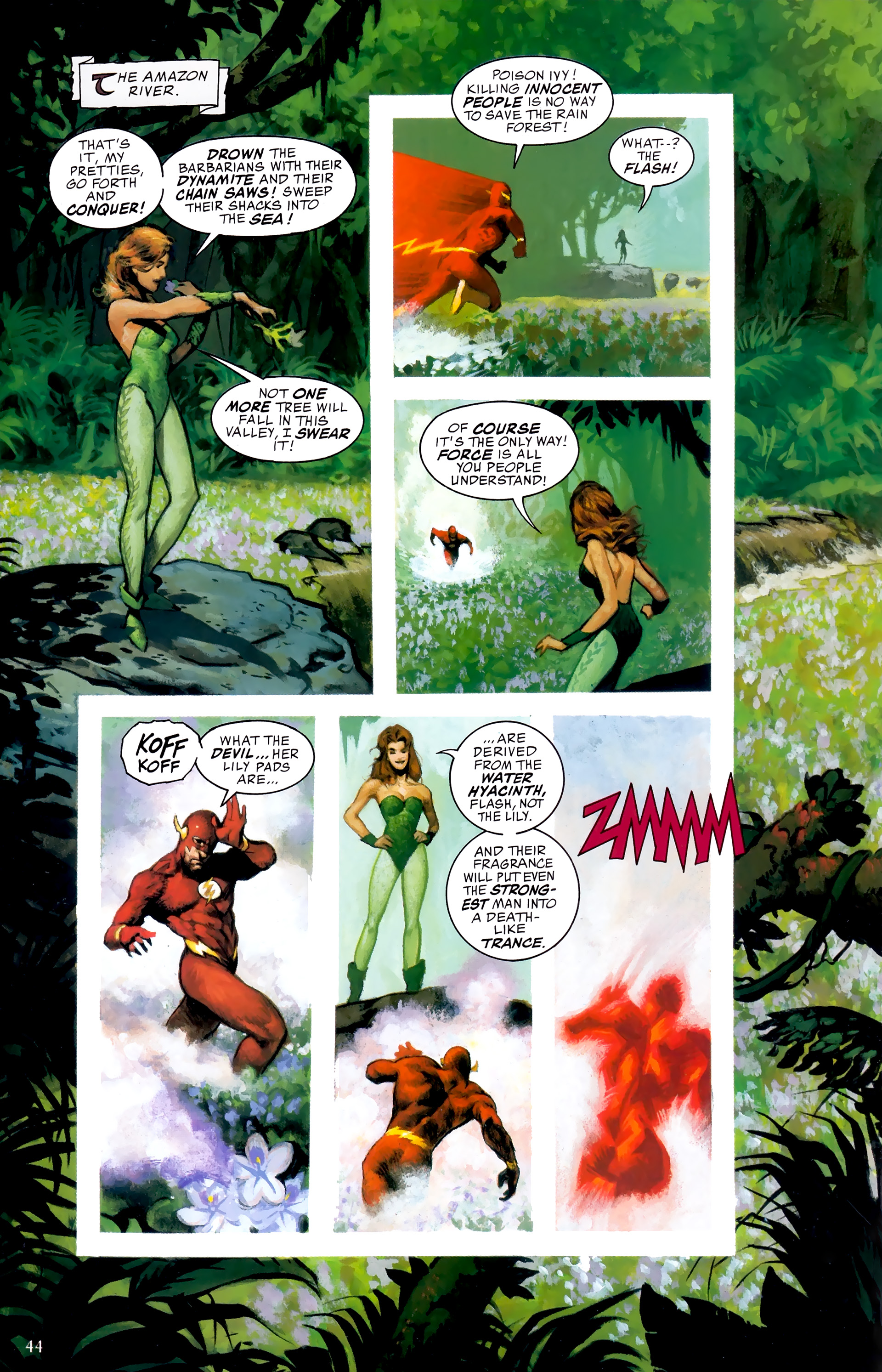 Read online JLA: A League of One comic -  Issue # Full - 51